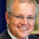 Scott Morrison at the Commonwealth Parliament Offices in Sydney